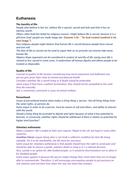 OCR A level Religious Studies 2019 - Religion and Ethics - Euthanasia