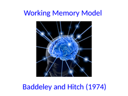 Working-Memory-Model-and-related-research.ppt
