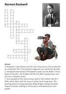 Norman Rockwell Crossword