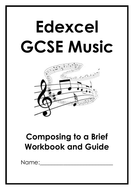 Edexcel GCSE Music Brief Set Composition Workbook and