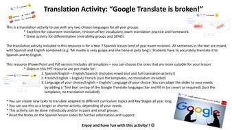 Google-Translate-is-broken!---TRANSLATION-ACTIVITY-MFL-Pdf.pdf