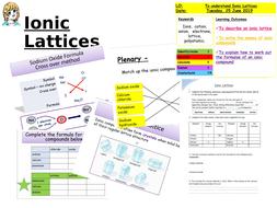 CC5b ionic Lattices