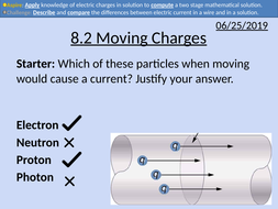 OCR AS level Physics: Moving Charges