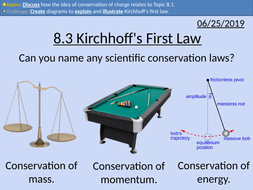 OCR AS level Physics: Kirchhoff's First Law