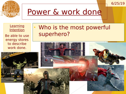 Electrical power - using Avengers