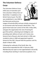 The Volunteer Defence Corps Handout
