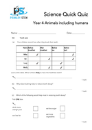 Primary Science Quick Quizzes Year 4