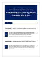 Component 1: Exploring Music Products and Styles Assignment Brief and Tasks.pdf