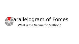 AQA 9-1 Parallelogram of Forces (Higher)