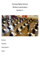 Passing Higher Drama - Section 1