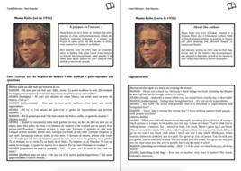 Literary Text- A Level French- Mama Keïta- Worksheet