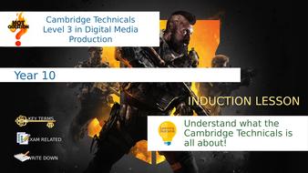 Cambridge-Technicals-Digital-Media---Year-11-Taster-Lesson.pptx