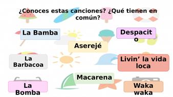 La canción del verano- Spanish music