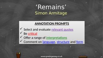 Simon-Armitage---'Remains'---Annotation---TES.pptx