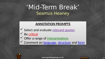 Seamus-Heaney---'Mid-Term-Break'---Annotation---TES.pptx