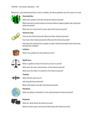 Key Questions To Ask And Answer During KS2 History Units