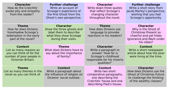 Revision mats for literature