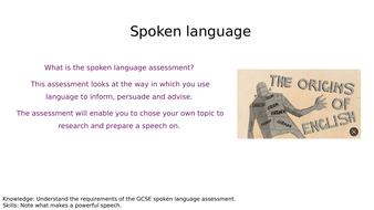 Spoken Language scheme
