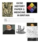 GCSE Medicine in Britain Practice Exam Questions Homework Book