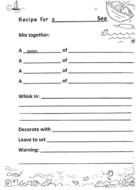 Recipe for a ___ Sea