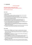 Genre analysis essay outline