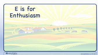E is for Enthusiasm - Whole School Assembly