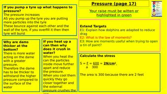Y7-Homework-RAISE---Pressure.pptx