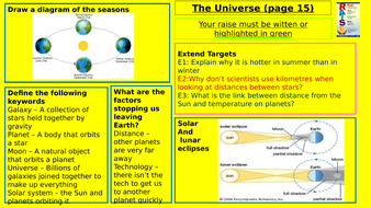 Y7-Homework-RAISE---The-Universe.pptx