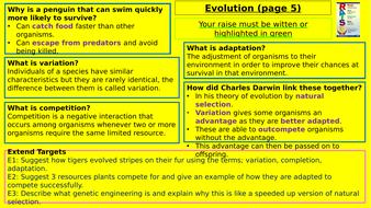 Y9-Homework-RAISE---Evolution.pptx