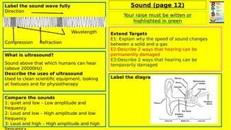 Y7-Homework-RAISE---Sound.pptx