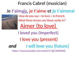 Francis-Cabrel-song-Love-in-3-tenses-French-and-Spanish.pptx
