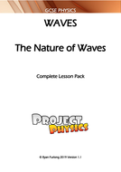 GCSE Physics The Nature of Waves Complete Lesson Pack (with Practical)