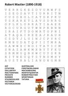 Robert Mactier Word Search