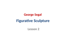 Figurative Sculpture - Lesson 2