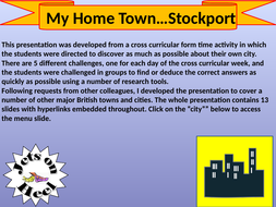 Stockport ~  My Home Town