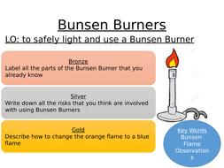 Bunsen Burner Y7 intro lesson