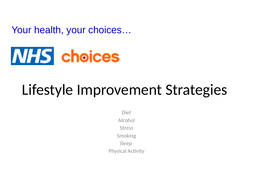 Lifestyle Improvement Strategies