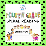 4th Grade Daily Reading Homework | Reading Comprehension Passages with Questions