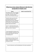 Dr Jekyll and Mr Hyde lesson for chapter 1