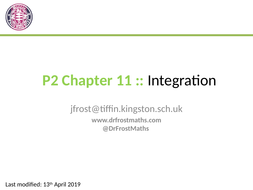 Pure Year 2 Chapter 11 - Integration