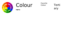 Colour Theory Worksheet