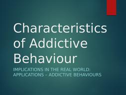 WJEC Eduqas Psychology Addiction A-Level Component 3
