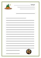 Letter Template - Campsite Theme