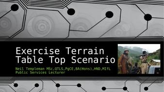 Terrain-Exercise-Table-Top-Scenario-1.pptx