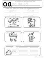 Phonics Worksheets Lesson Plan Flashcards Jolly Phonics Letter Oa Lesson Pack Teaching Resources