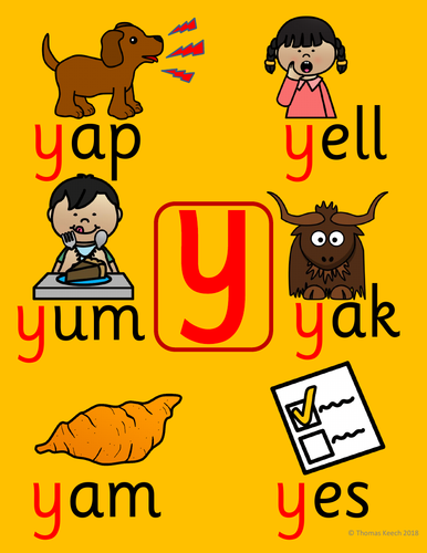Phonics Worksheets, Lesson Plan, Flashcards - Jolly Phonics Letter Y Lesson  Pack | Teaching Resources