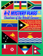 A-Z Mystery Flags: Countries Cursive