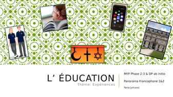 L'Ecole---IB-format-lesson---Panorama-Francophone-1-2.pptx