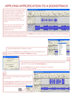 Four tutorials for use with Audacity (III)