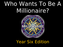 SATS revision - Who wants to be a millionaire